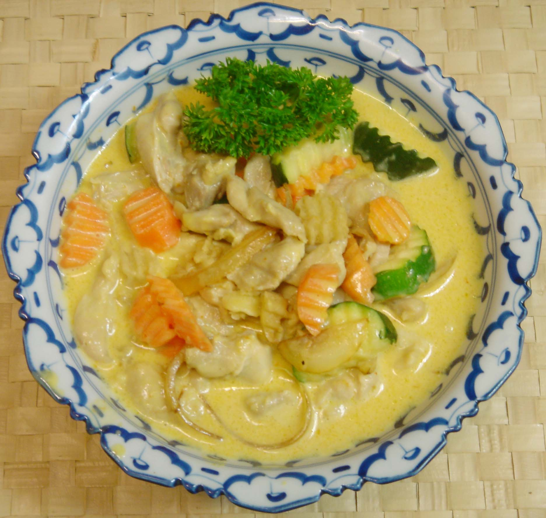Narin authentic thai cuisine kang karie yellow curry view the dish forumfinder Image collections